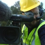 jon buglass cameraman and hero at burton tv news