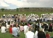 Schools Choir at Tutbury Castle – Queens Diamond Jubilee