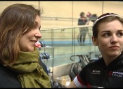 Womens cycling at the Derby Velodrome